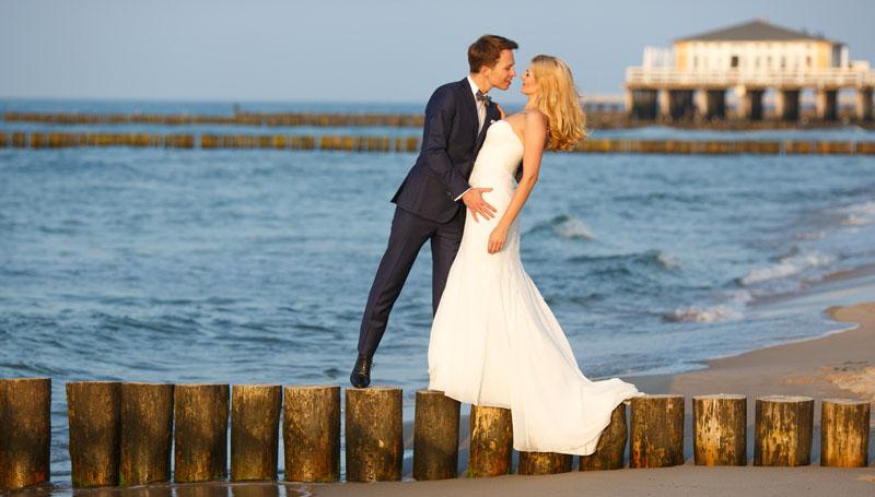 sesja ślubna w Ustroniu Morskim